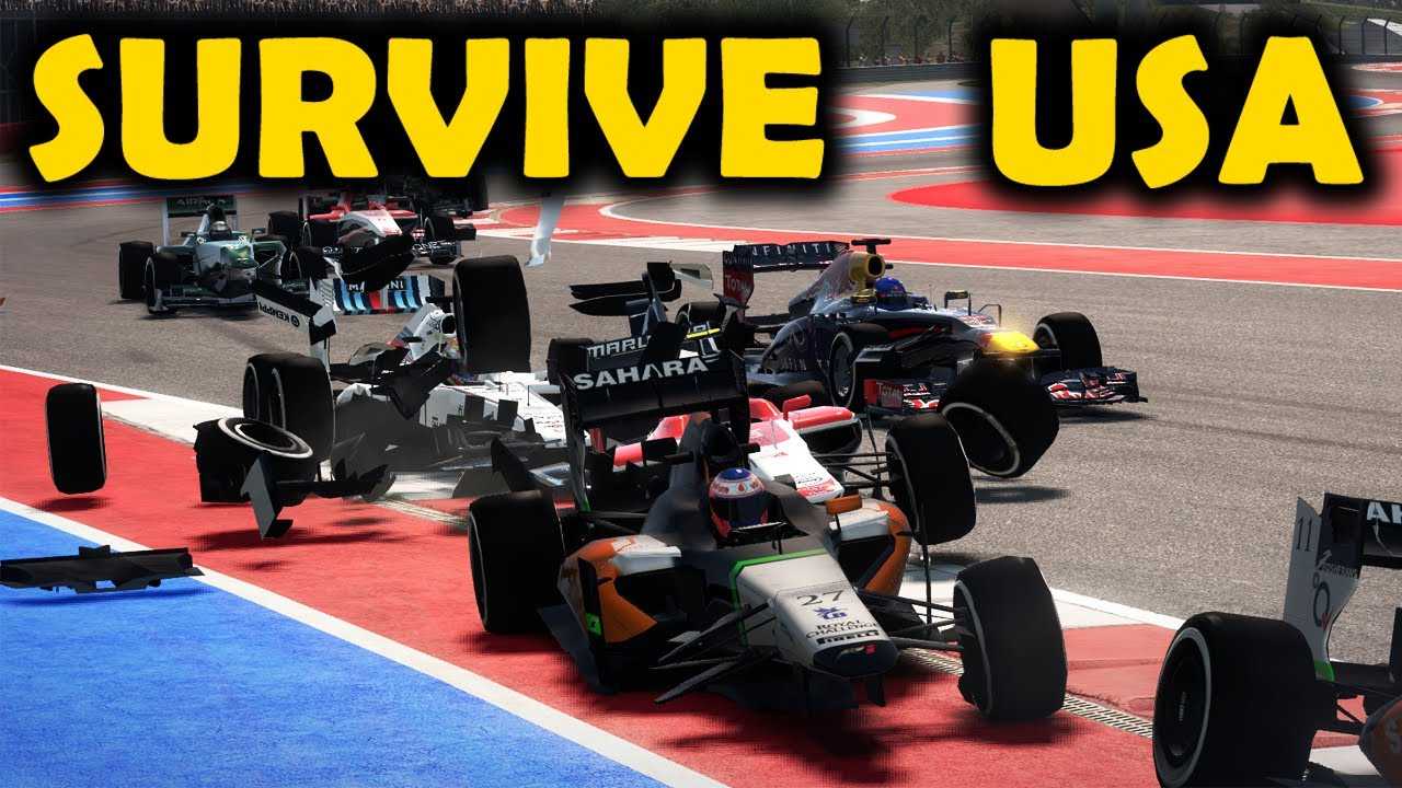 SURVIVE USA - Realistic Damage F1 2013