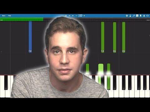 Ben Platt - Older - Piano Tutorial