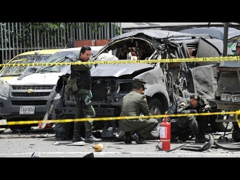 Bomb Blast in Colombia Today 2017