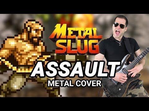 METAL SLUG - ASSAULT - Epic Metal Guitar Remix By CelestiC
