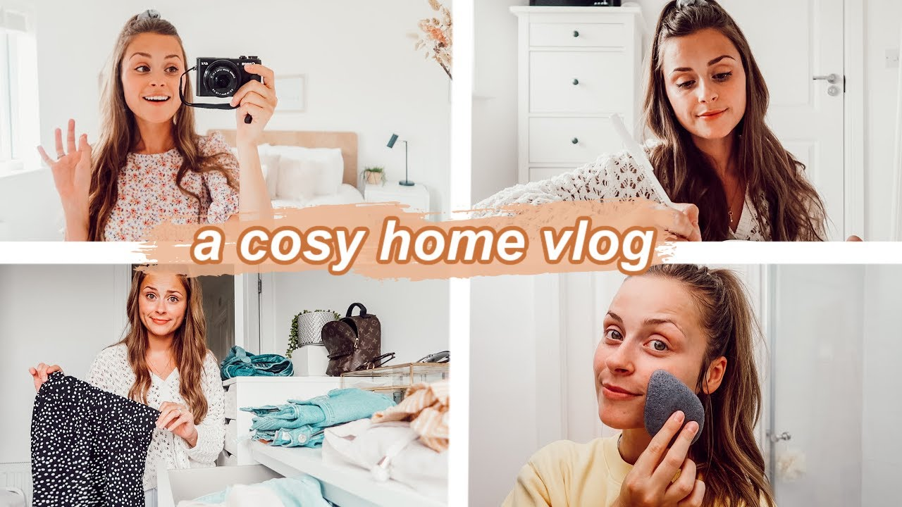 decluttering my wardrobe & a vulnerable chat... cosy vlog