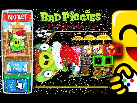 Bad Piggies Cake Race