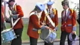 Lanark parade - Downshire Guiding Star in Scotland 1986 - Part 1