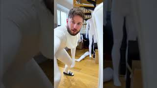 THIS NEARLY GAVE HIM A HEART ATTACK!! 🙈🤣😱