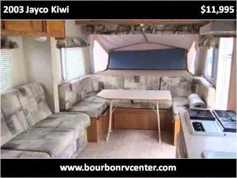 Jayco Jay Feather >> 2003 Jayco Kiwi Used Cars Bourbon MO - YouTube