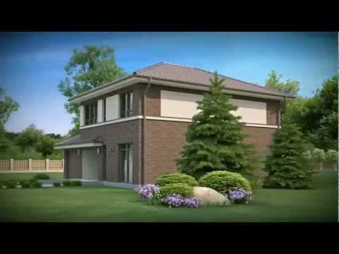 Проект дома 6х9 для узкого участка №31-150