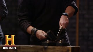 Forged in Fire: Railroad Spike Knife Tests (Season 5) | History
