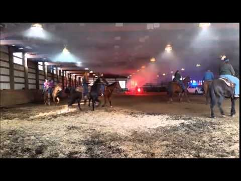Chafin Farms 1/24/15 Mounted Police Training