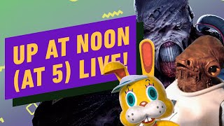 Up At Noon (At Five) LIVE!: Resident Evil 3's Nemesis, Animal Crossing & Star Wars Toys