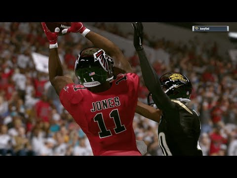 2017-2018 NFL PREVIEW SERIES PART 10: Atlanta Falcons - Madden 17 Online Gameplay