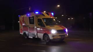 [Alle 4 Rettungswachen in 30 Minuten] Einsatzfahrten Rettungsdienst Stralsund