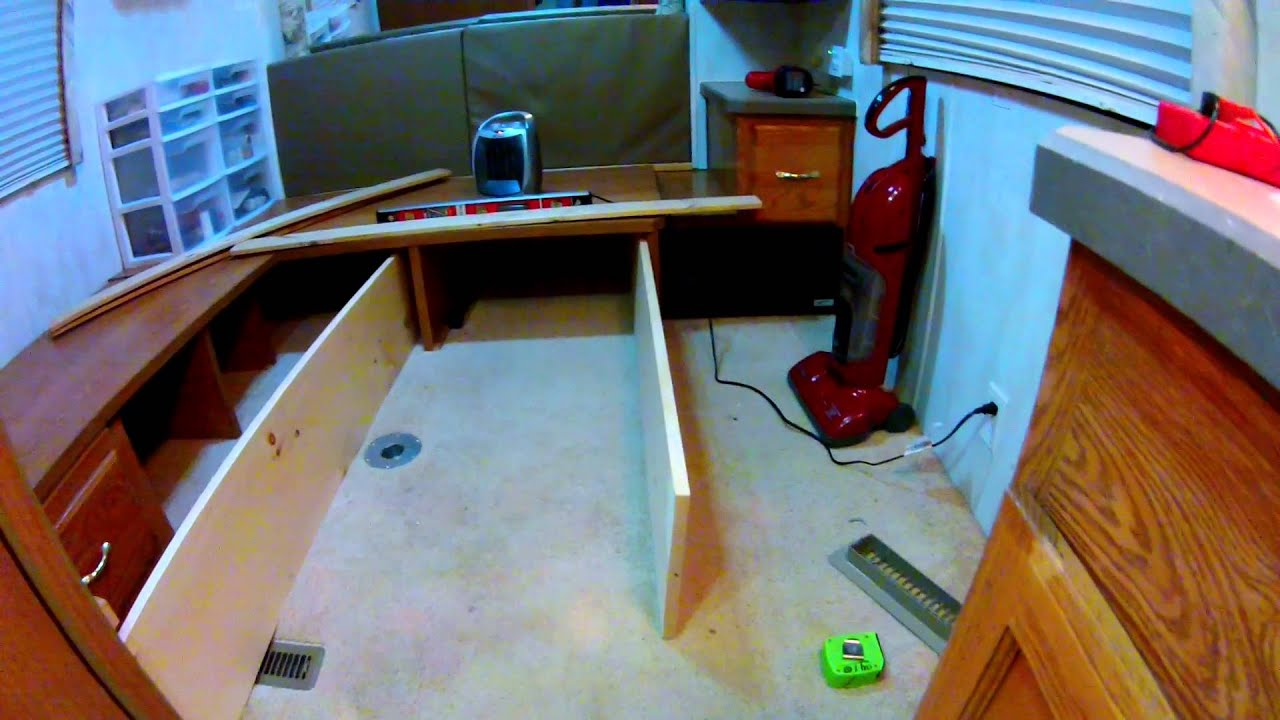 Ultimate Quot King Size Quot Camper Bed Build Youtube