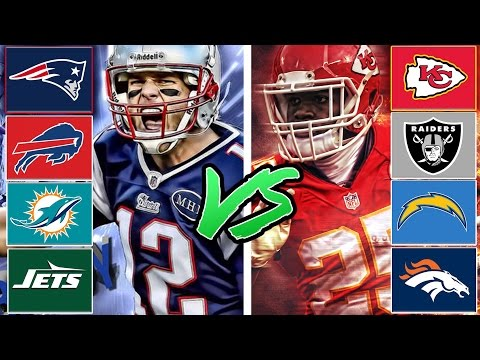 AFC East All-Stars vs AFC West All-Stars (Best Division in The NFL Game 4) Madden Tournament