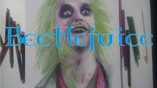 Speed Drawing - Beetlejuice