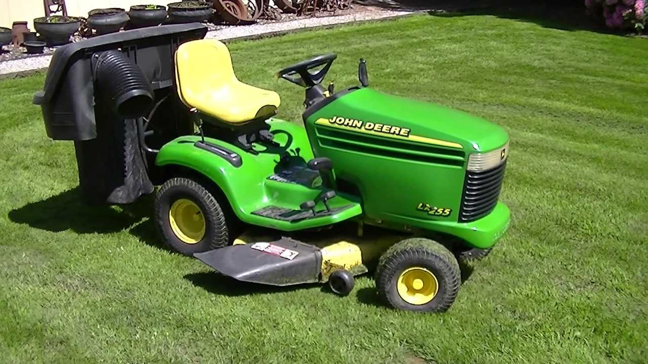 John Deere Lx255 Mower Deck Test 3 With New Bearings Installed