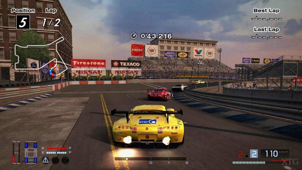 Gran Turismo 4 Gillet Vertigo Race Car 04 Hybrid Ps2 Play Hd