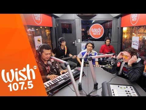 Alamid performs SamaSama  on Wish 1075 Bus