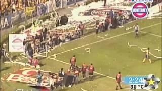 FINAL DE VUELTA TIGRES VS PACHUCA INVIERNO 2001