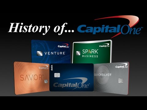 The History Of Capital One | Credit Cards