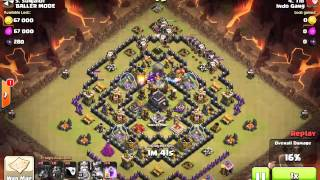 Clash of Clans Lavalon strategy 3 star TH9 part 3
