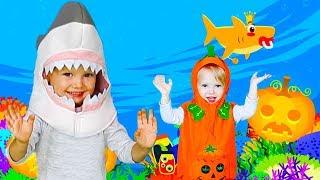 Baby Shark Dance Halloween   Nursery Rhymes & Kids Songs by Olivia Kids Tube