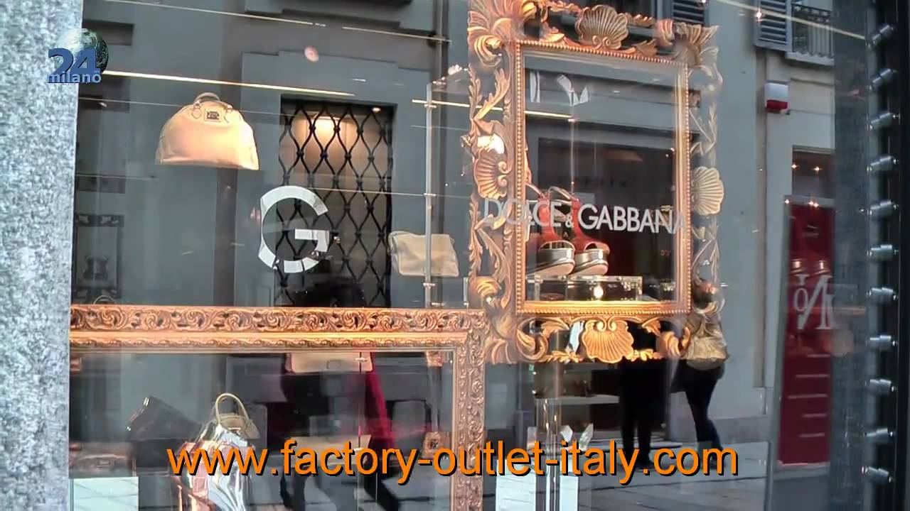 Factory Outlet Italy - Factory outlet Stores in Milan Italy - YouTube