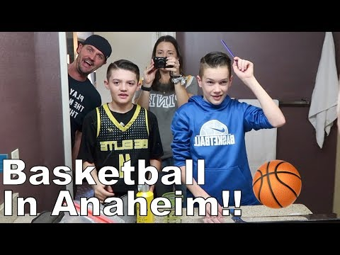 Huge Basketball Tournament Weekend In Anaheim