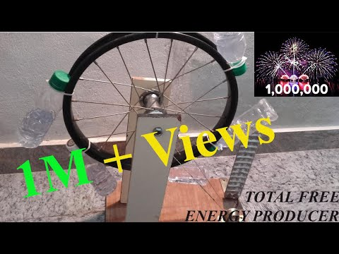 How to produce Free Energy by perpetual motion