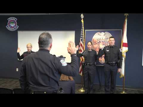 Sarasota Police Swearing In Ceremony - January 26, 2015