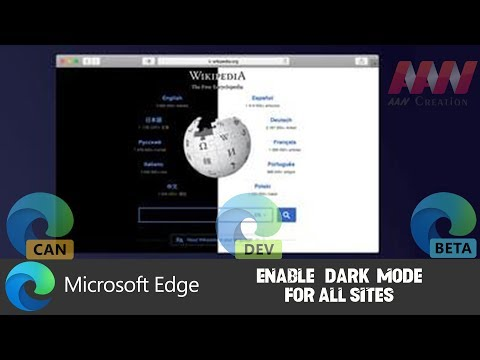 How to Enable Dark Mode for All Sites in Chromium Version of Microsoft Edge