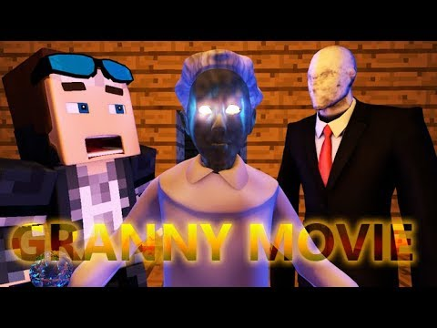GRANNY IN MINECRAFT GAME (FULL HORROR MOVIE) Part 1 - Minecraft Animation