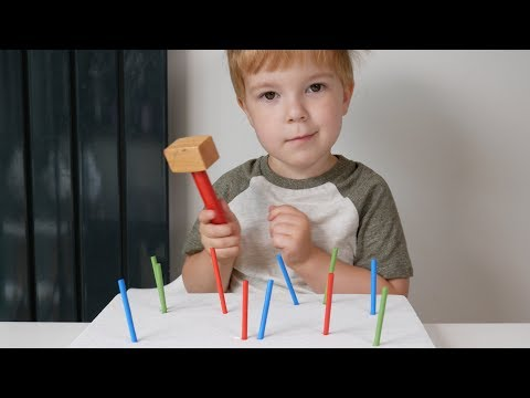 Hammering Activity For Preschoolers