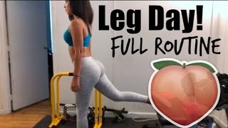 Brutal Butt & Thigh Workout! - Full Routine !!