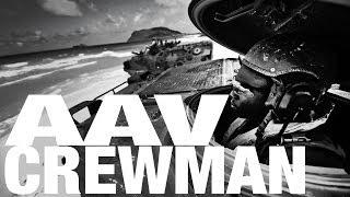 AAV Crewmen Conduct Desert Training