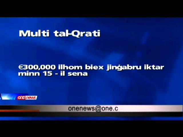€12,000,000 xjingabru fmulti tal-Qrati .