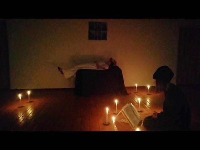 Изображение предпросмотра прочтения – ИринаОзерова читает отрывок изпроизведения «Вий» Н.В.Гоголя