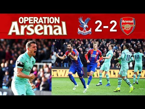 CRYSTAL PALACE 2-2 ARSENAL - WINNING RUN COMES TO AN END...