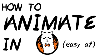 how to animate oฑ FireAlpaca