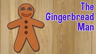 The Gingerbread Man - Animated Fairy Tales For Children