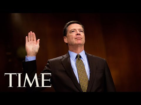 Fired FBI Director James Comey's Full Testimony Before The S