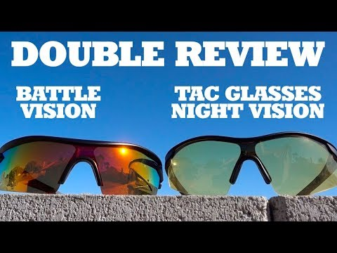 Double Review: Battle Vision & Tac Glasses Night Vision