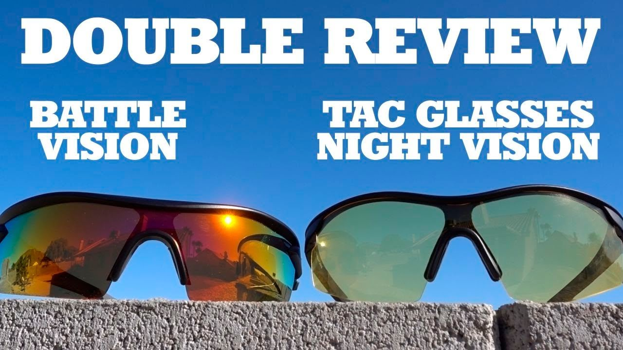 aeddd8aed9 Double Review  Battle Vision   Tac Glasses Night Vision - YouTube