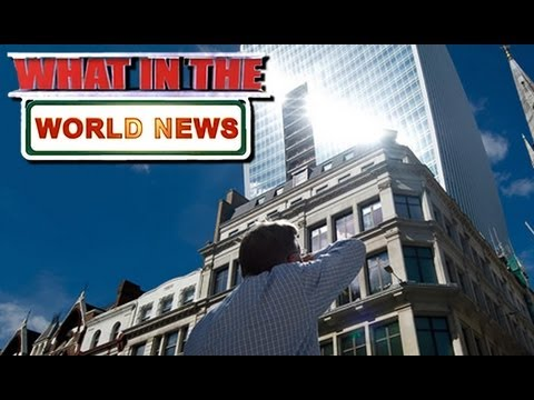 What in the World News: LONDON DEATH RAY