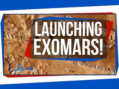 Launching ExoMars!