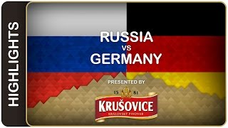 Shipachyov ends the German dream | Russia-Germany HL | #IIHFWorlds 2016(Russia fell behind early 1-0 but made up for the slow start with an unrelenting onslaught thereafter. Only goaltender Thomas Greiss prevented a blowout., 2016-05-19T19:59:05.000Z)