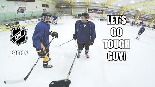 YOU WANT TO GO TOUGH GUY?? [GoPro Hockey 3 on 3 GAME 7]