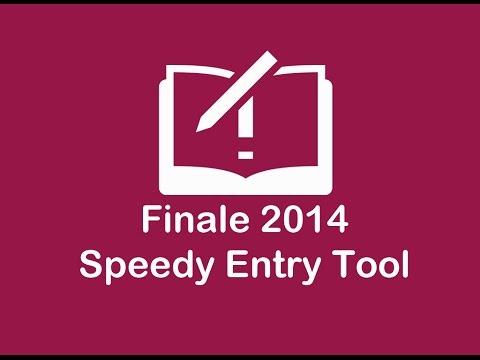Speedy Entry Tool ( Finale 2014 Sesión 3)