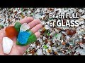 Glass Covers This Beach and People Like It That Way
