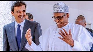 President Buhari Receives Emir Of Qatar