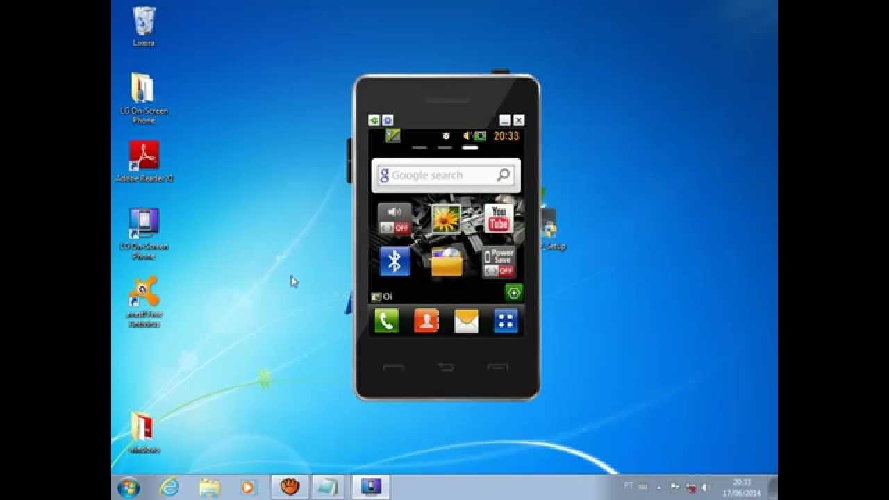 tema windows 7 para celular lg t375